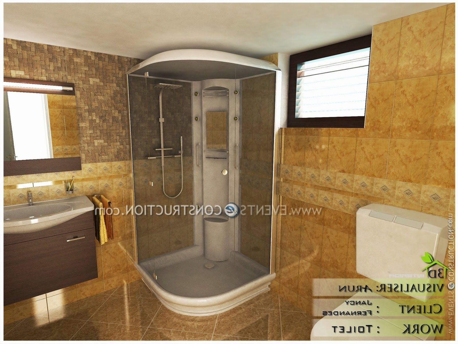 Evens Construction Pvt Ltd: Modern Kerala Bathroom Design Kerala House Bathroom Designs