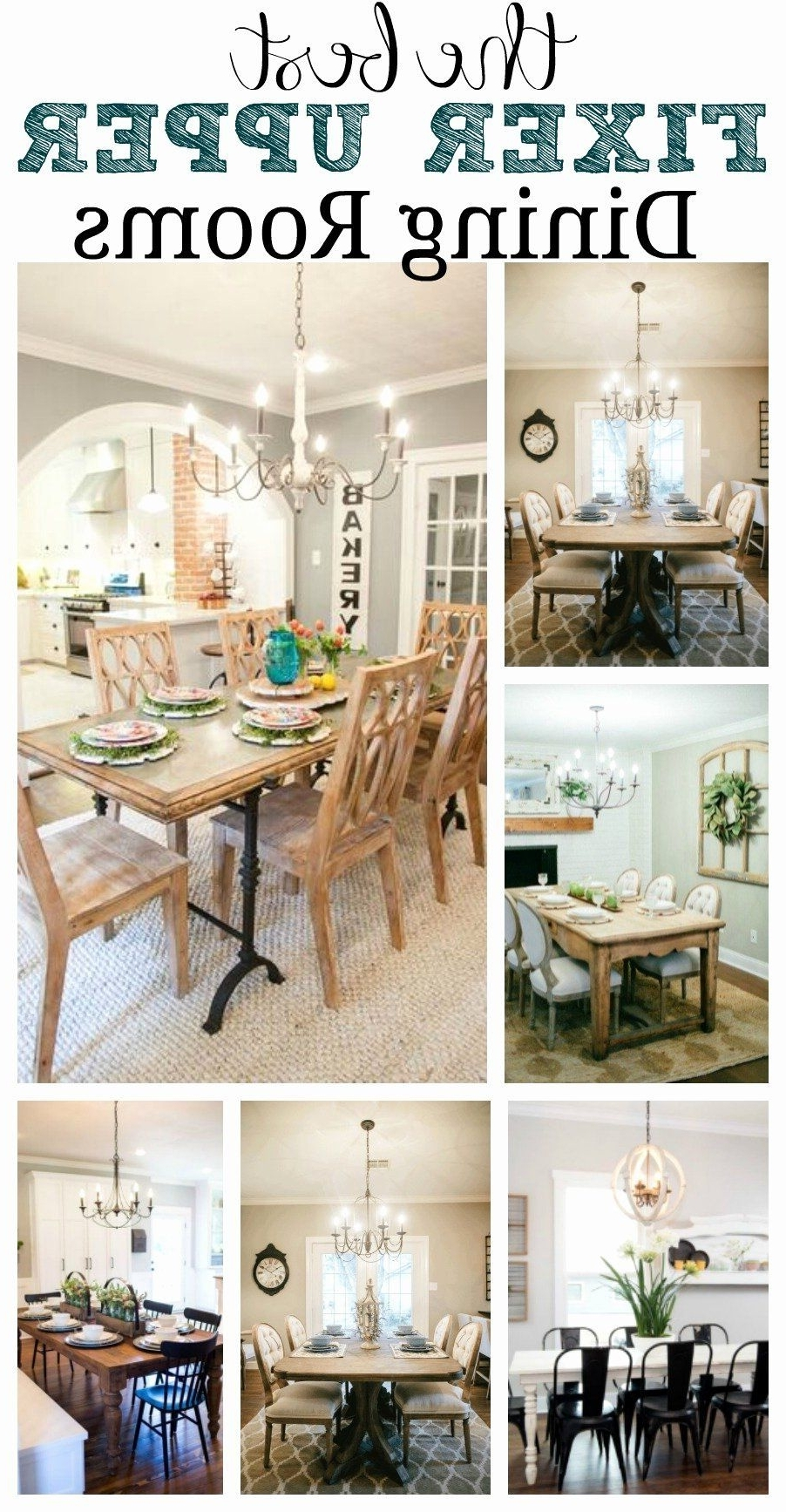 Farmhouse Style Dining Room Decorating Ideas New Favorite 10+ Joanna Gaines Dining Room Decorating Ideas Inspirations