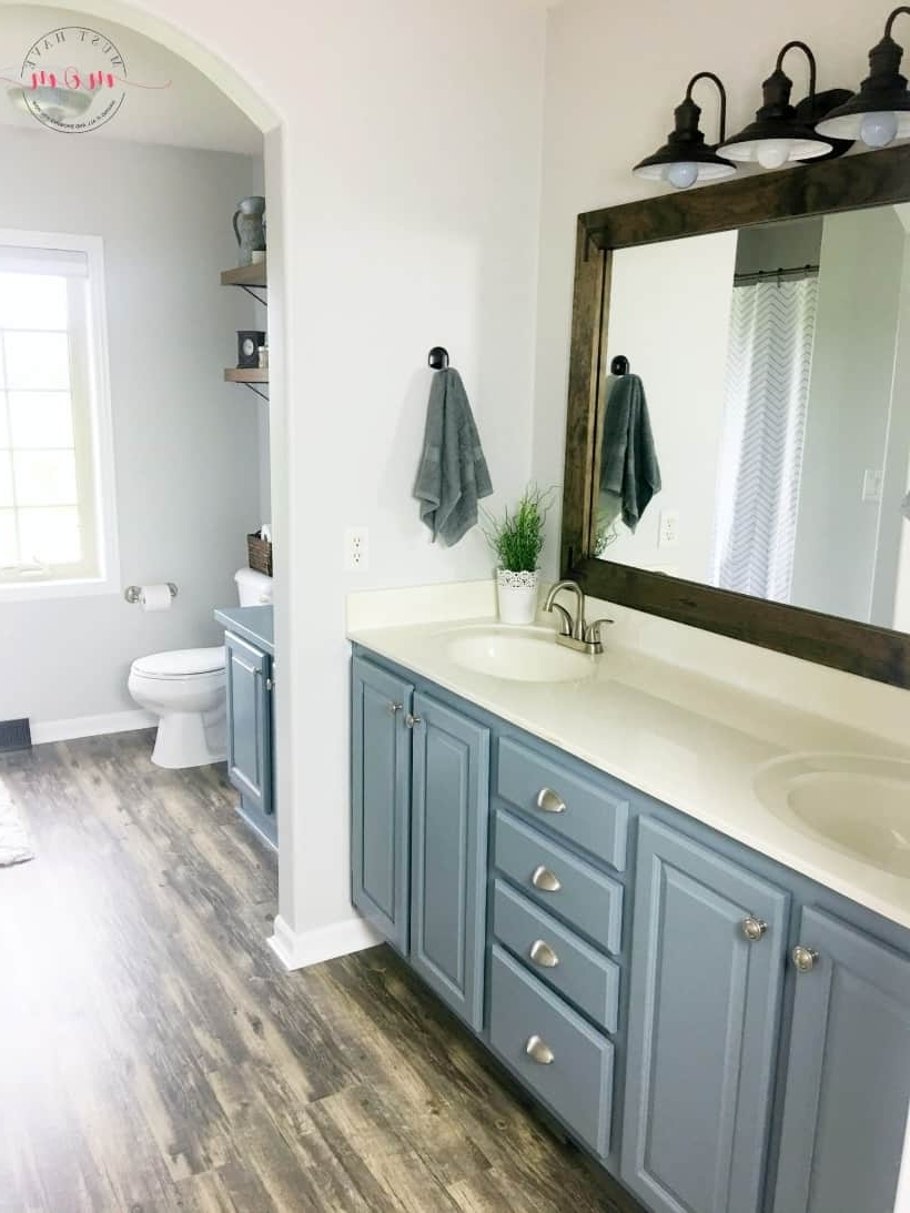 Farmhouse Style Fixer Upper Bathroom On A Budget Must Have Mom 30+ Fixer Upper Bathroom Design Inspirations