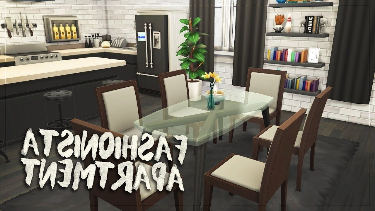 Fashionista Apartment (Nocc) // The Sims 4: Speed Build Sims 4 Living Room No Cc