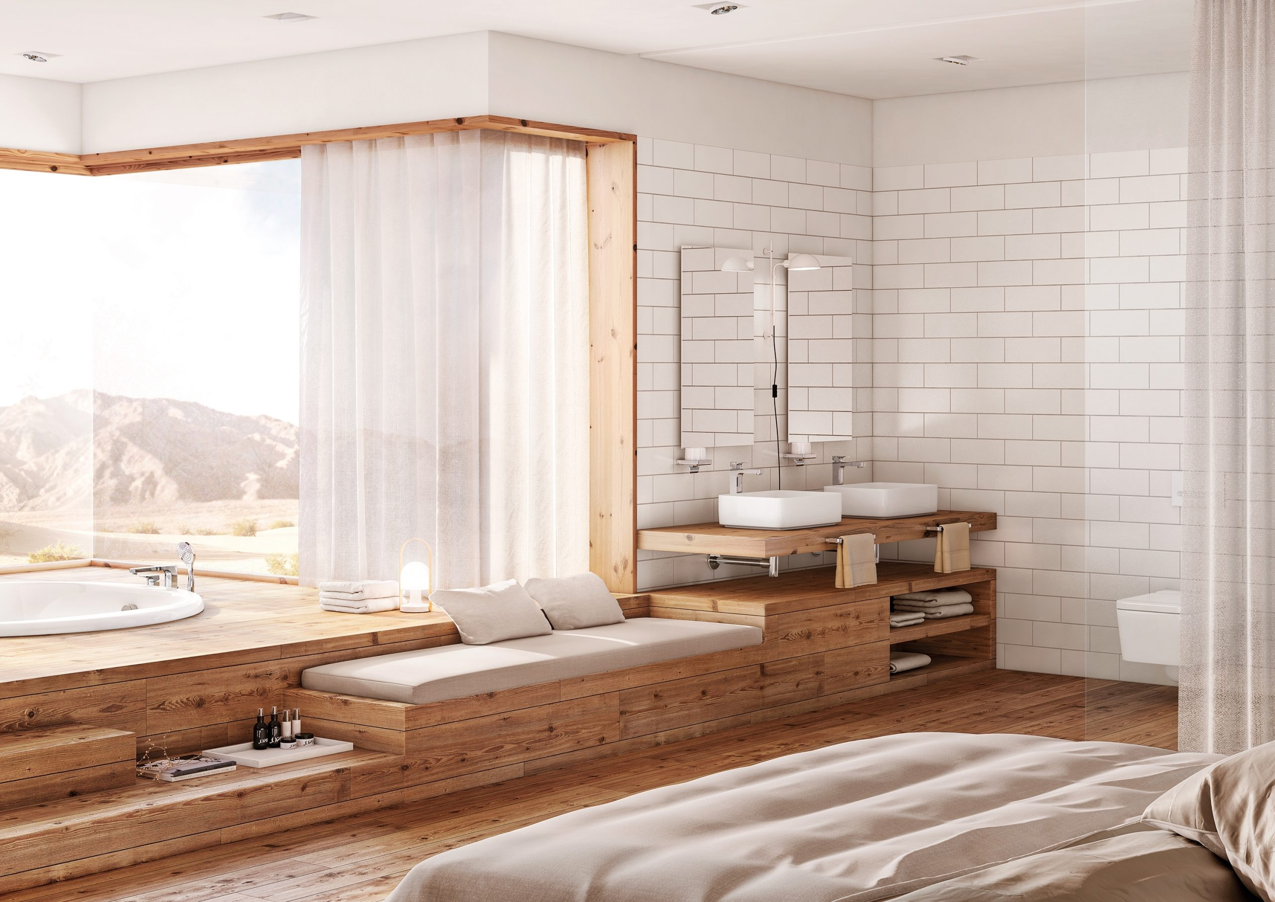 Feng Shui: Bathroom Renovation That Conveys Your Energy Feng Shui Small Bathroom