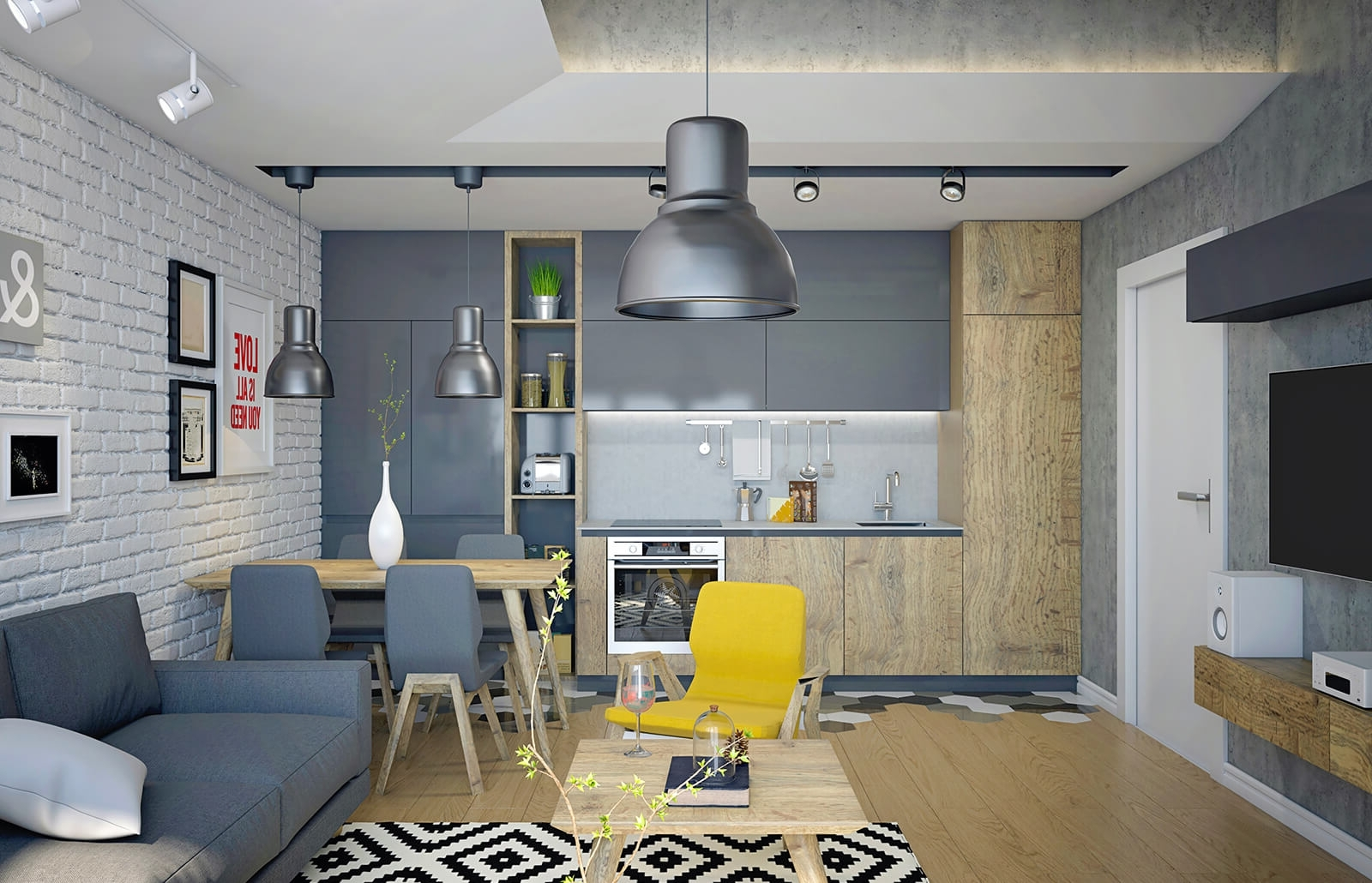 Feng Shui Studio Apartment Layouts And Ideas | Lovetoknow Feng Shui Small Living Room Layout