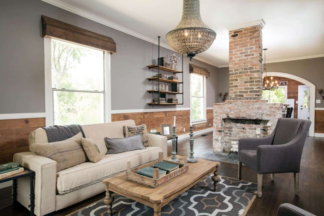 Fixer Upper Kitchens, Living And Dining Rooms {21 Favorites!} 20+ Living Room Fixer Upper Inspirations
