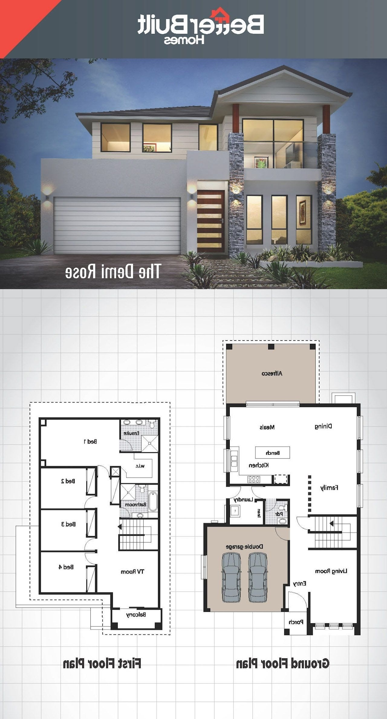 Floor Plan For Modern House Low Cost 2 Storey House Design 10+ Low Cost 2 Storey Apartment Design Philippines Ideas