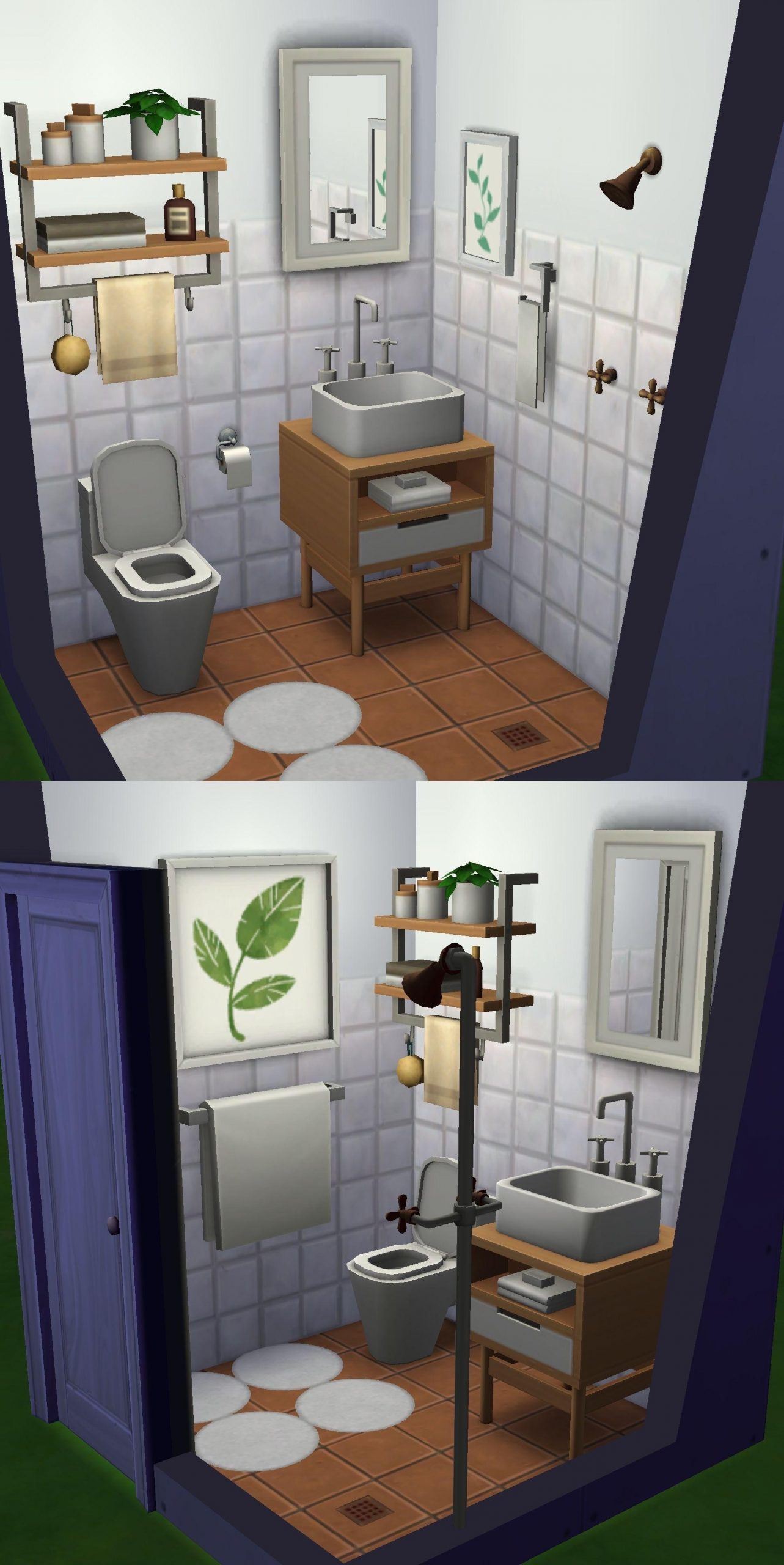 For Those Who Want A Small Bathroom Without It Looking Like 40+ Sims Bathroom Ideas