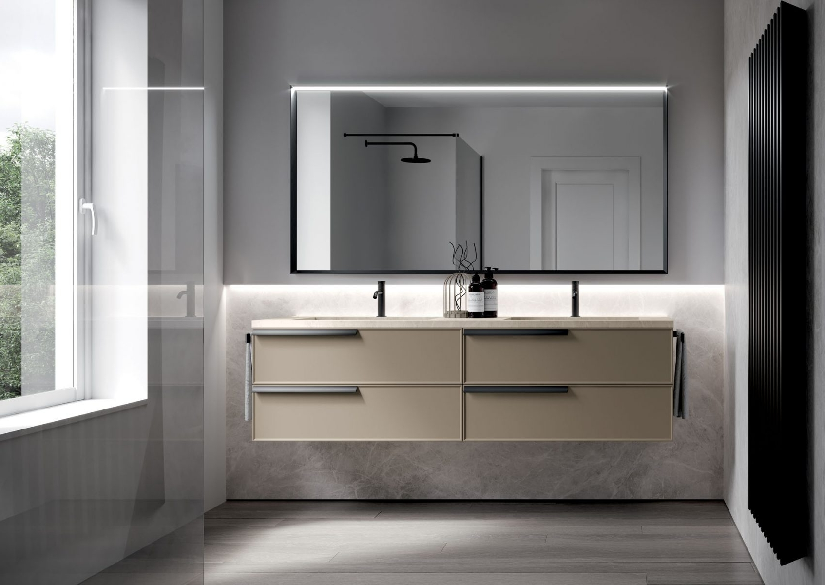 Form: Floor Standing And Suspended Bathroom Cabinets Ideagroup Idea Group Bathrooms