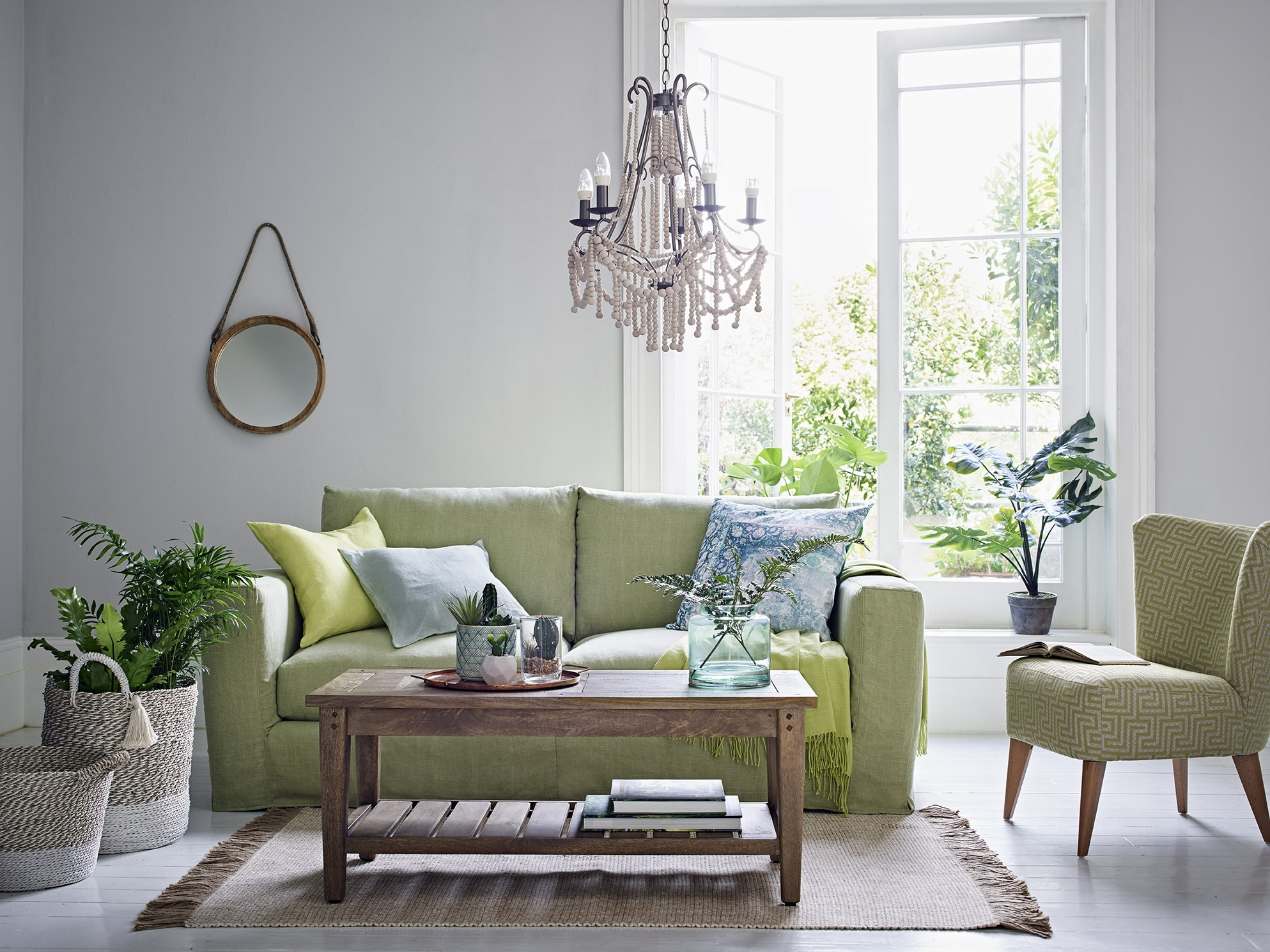 Green Sofas: 10 Of The Best | Real Homes 20+ Marks And Spencer Living Room Inspirations