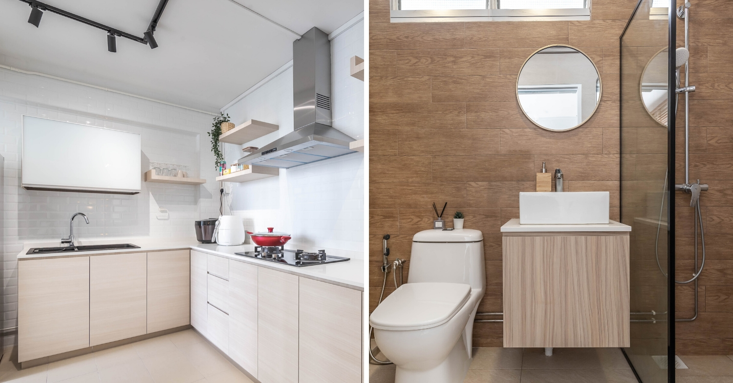 Hdb Renovation In Singapore: How We Turned Our Old 4 Room Hdb 4 Room Bathroom Design