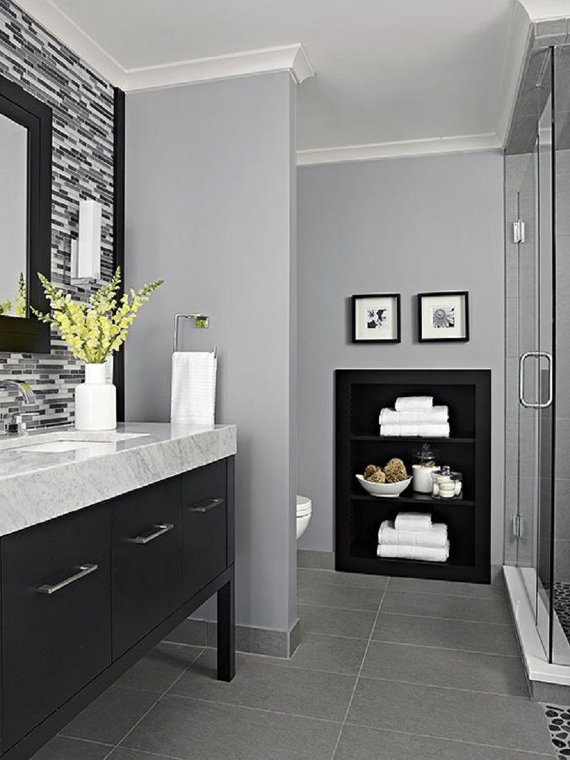 How To Brighten A Windowless Bathroom | Callen Construction 20+ Small Windowless Bathroom Decorating Ideas