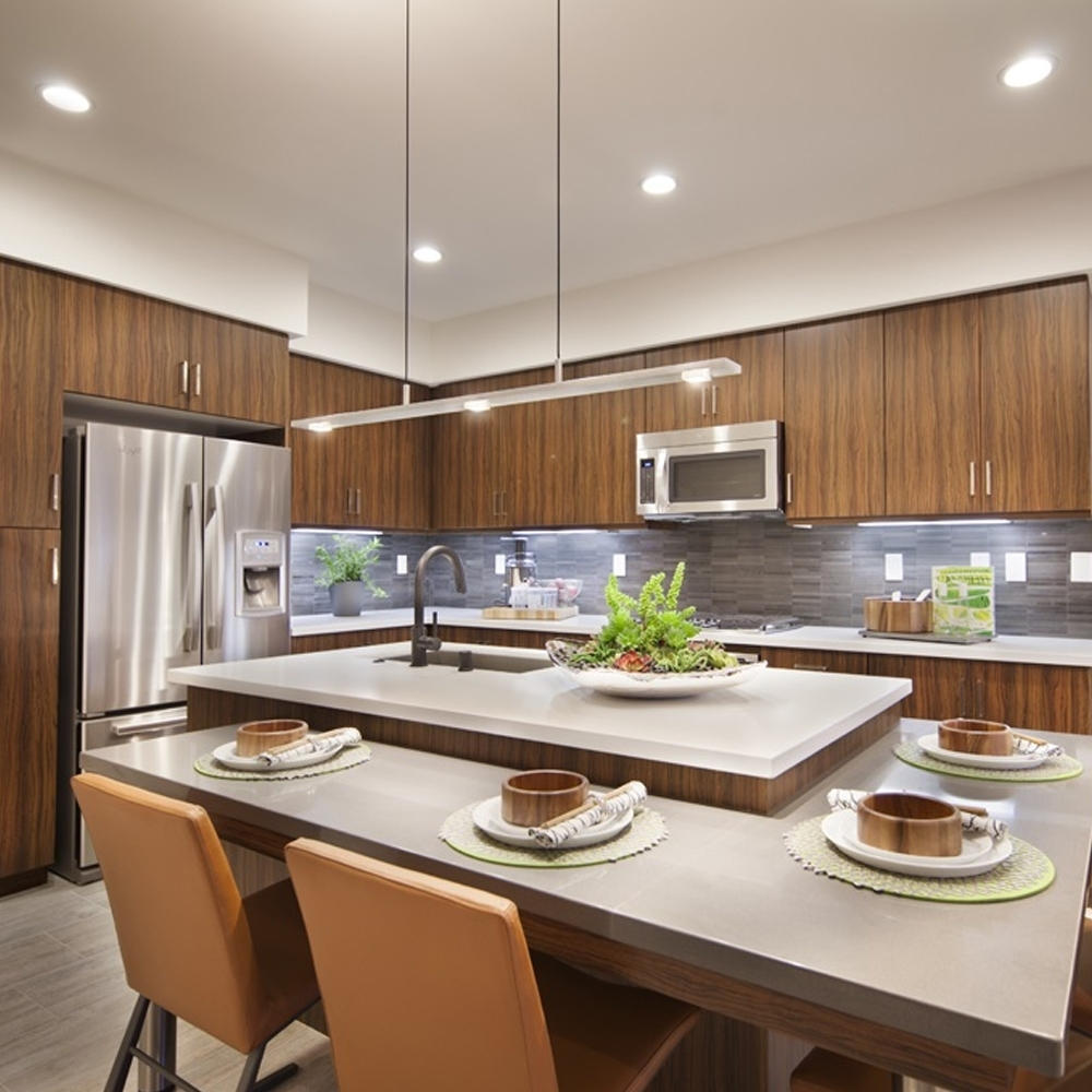 How To Choose Recessed Lighting: Downlighting, Types, Trims 40+ Soffit Lighting Living Room Ideas