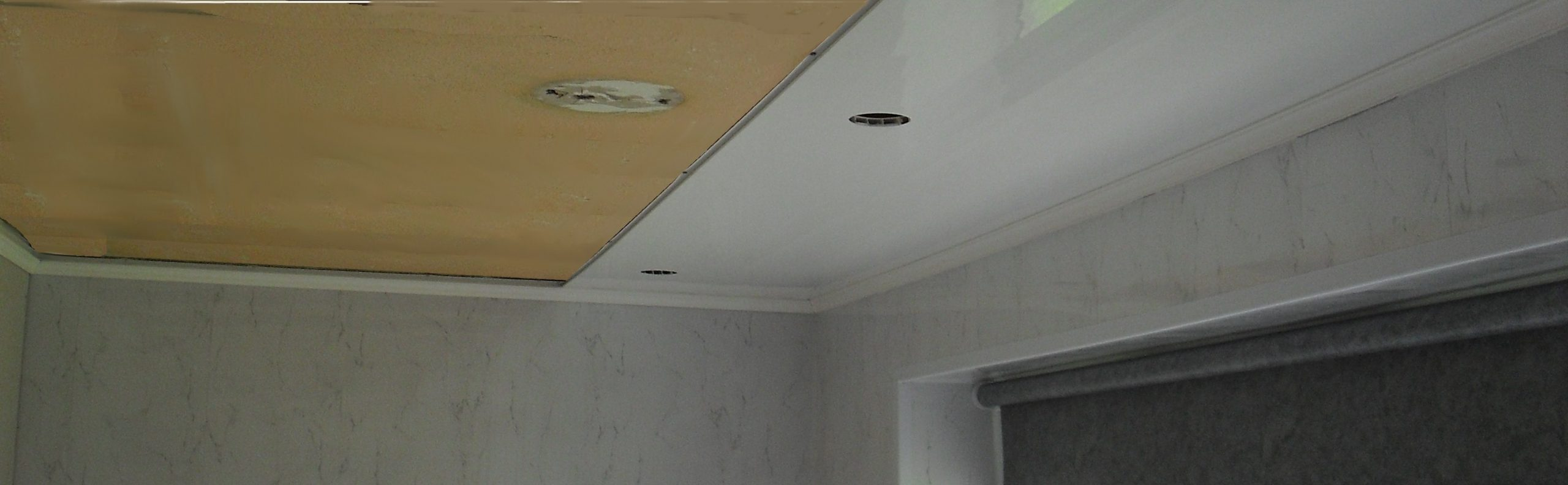 How To Fit Ceiling Panels A Guide From The Bathroom Marquee 40+ Bathroom Ceiling Cladding Ideas
