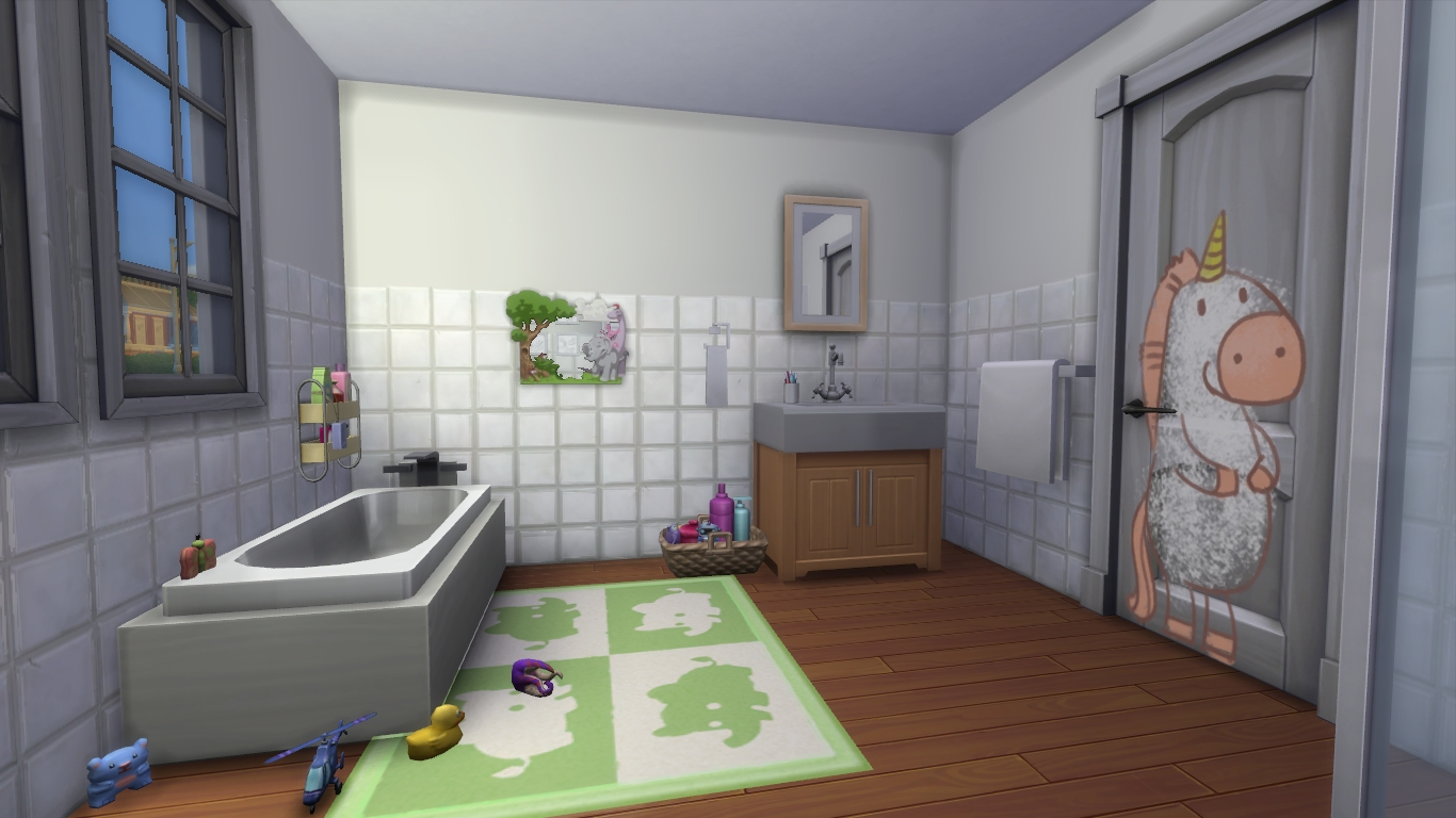 How To: Furnishing Bathrooms In The Sims 4 | Simsvip Sims 2 Bathroom