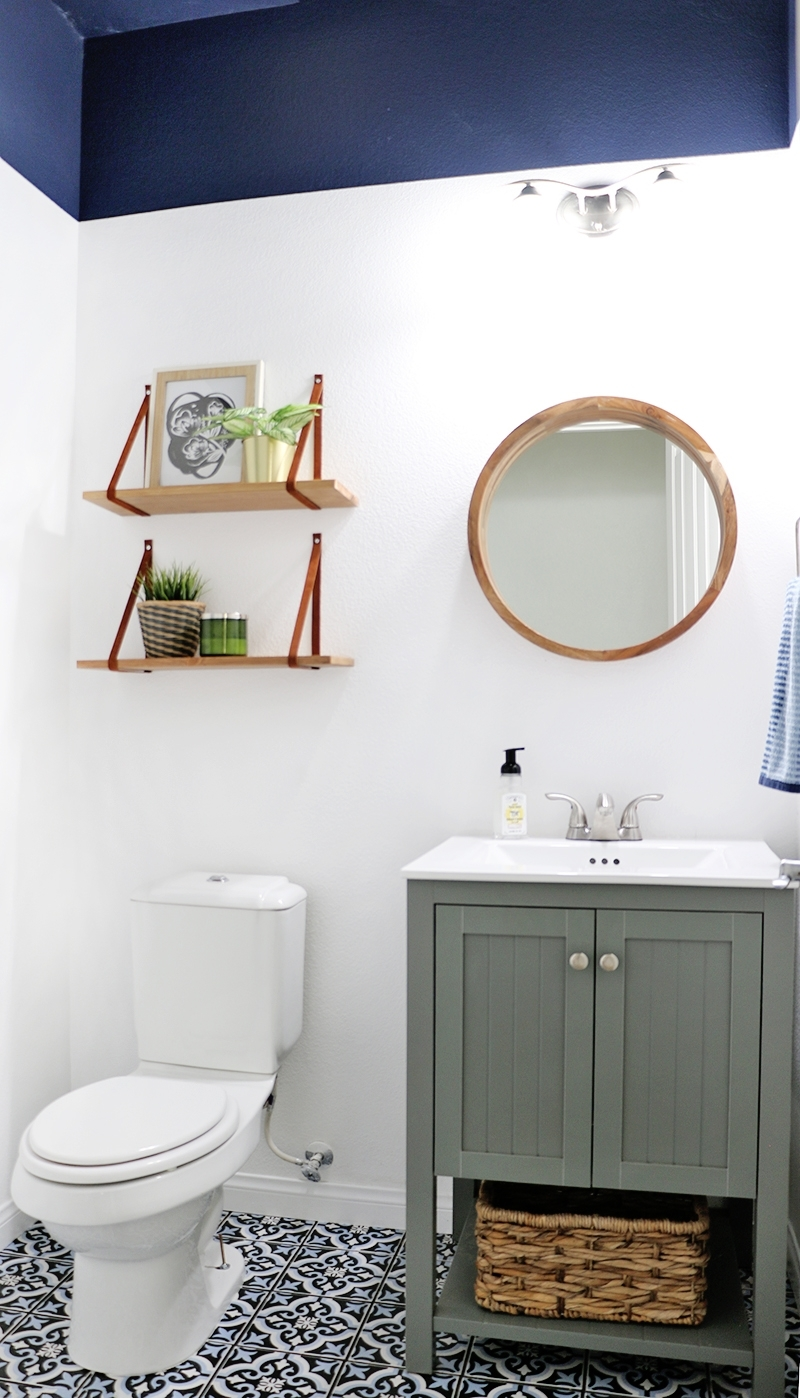 How To Get Perfect Paint Lines Even On Orange Peel Walls 30+ Frog Tape Bathroom Inspirations