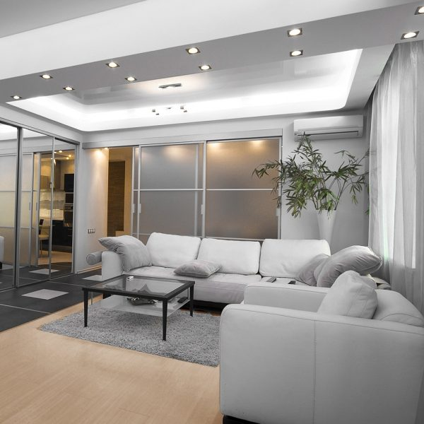 How To Lay Out Recessed Lighting The Home Depot Recessed Lighting In Living Rooms Examples