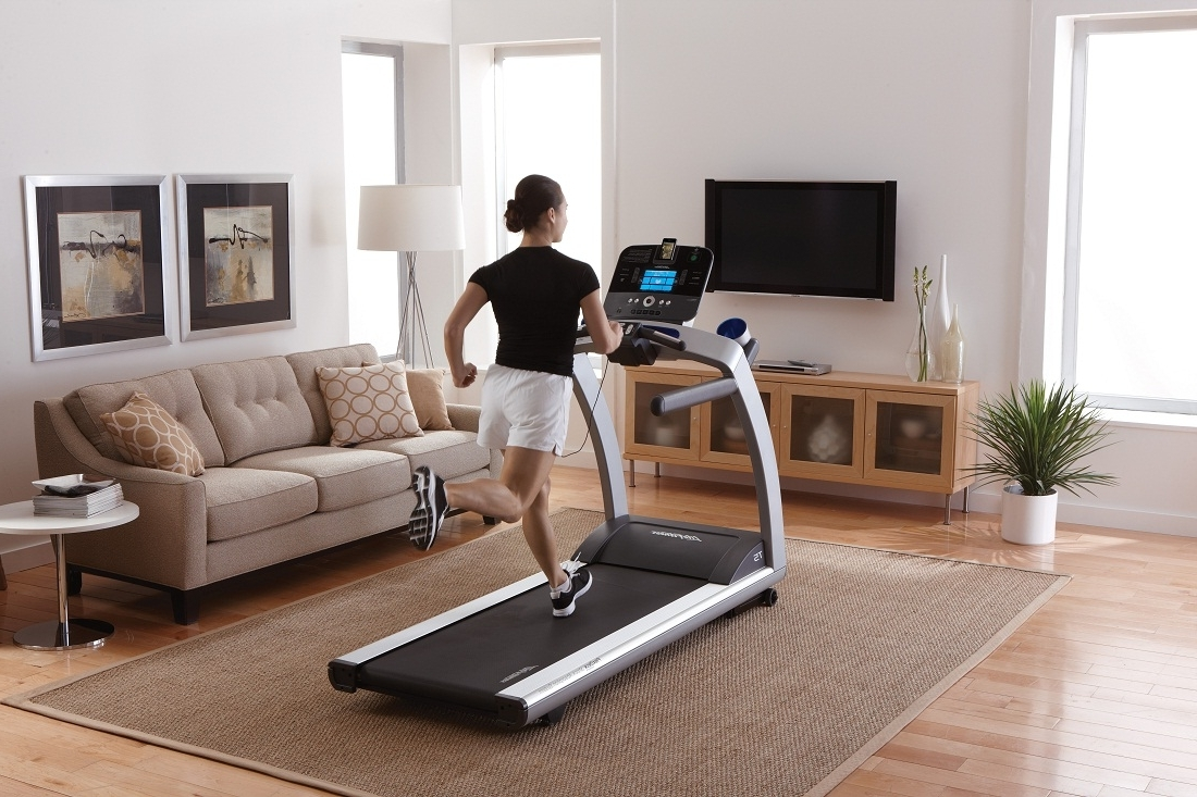 How To Make Room For A Fitness Area In The Living Room 40+ Decorate Living Room With Treadmill Ideas