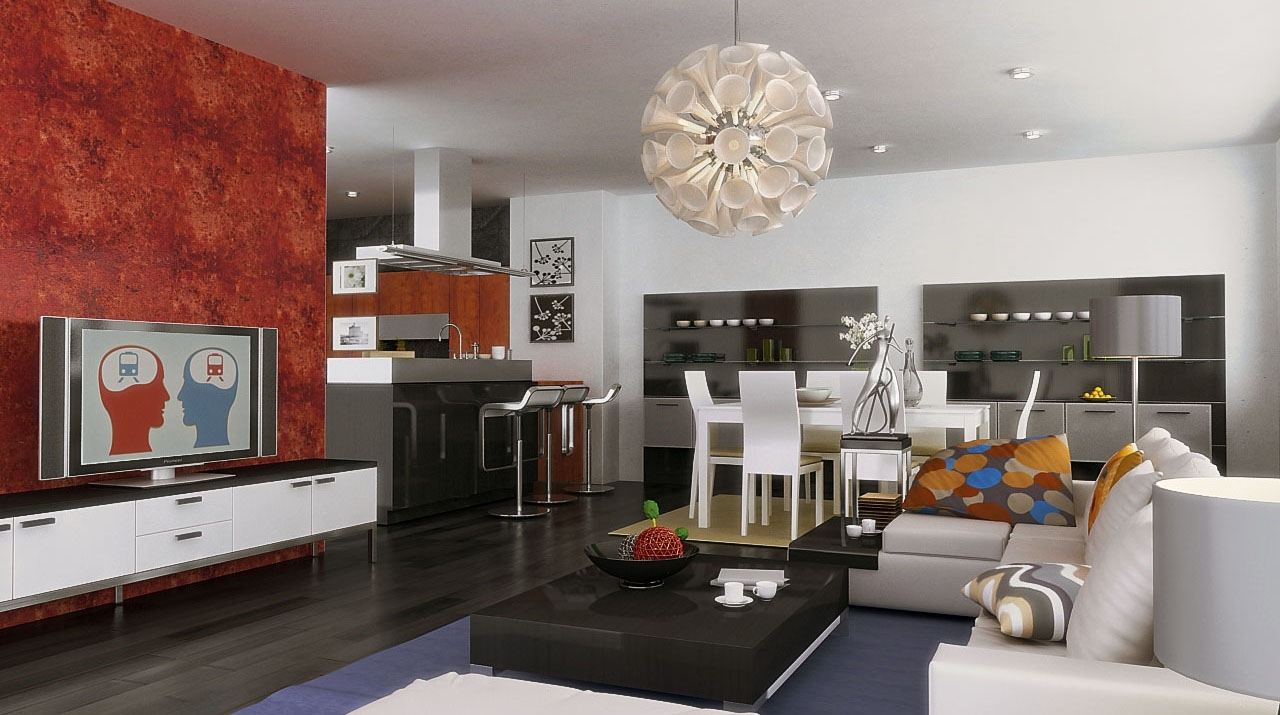 How To Paint An L Shaped Living Room & Dining Room L Shaped Living Room Dining Room Decorating