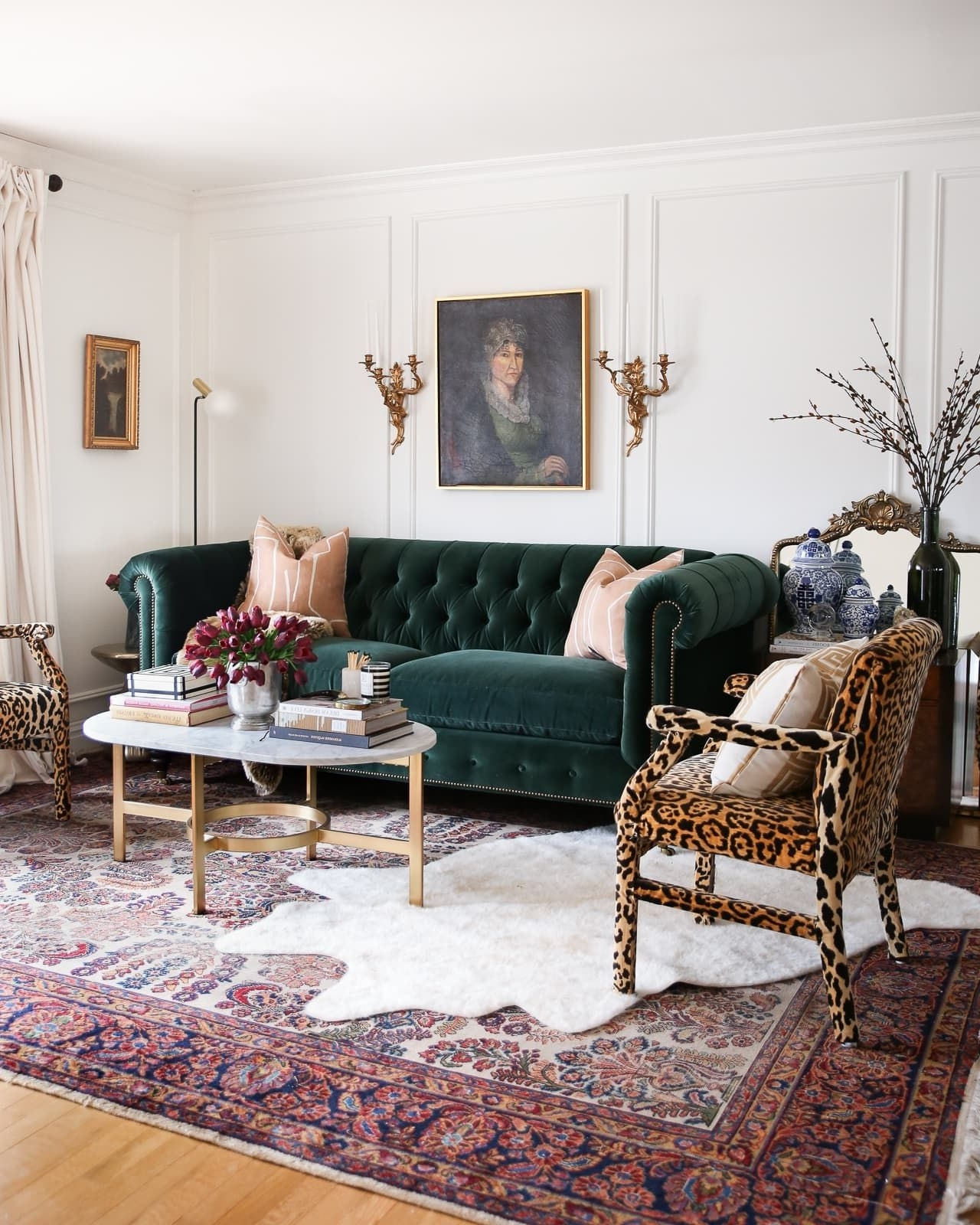 I Can'T Figure Out Our Living Room Layout • A Glass Of Hollywood Regency Living Room Design