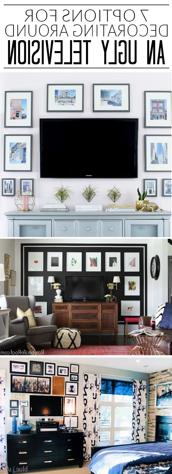 I Never Know How To Decorate Around The Tv, But I'M Loving 40+ Decorating Living Room With Flat Screen Tv Inspirations