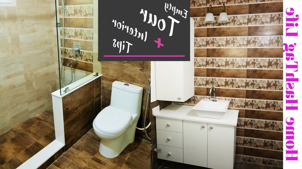Indian Small Bathroom Design & Tour | House To Home Series Ep. 2 Compact Bathroom Designs India