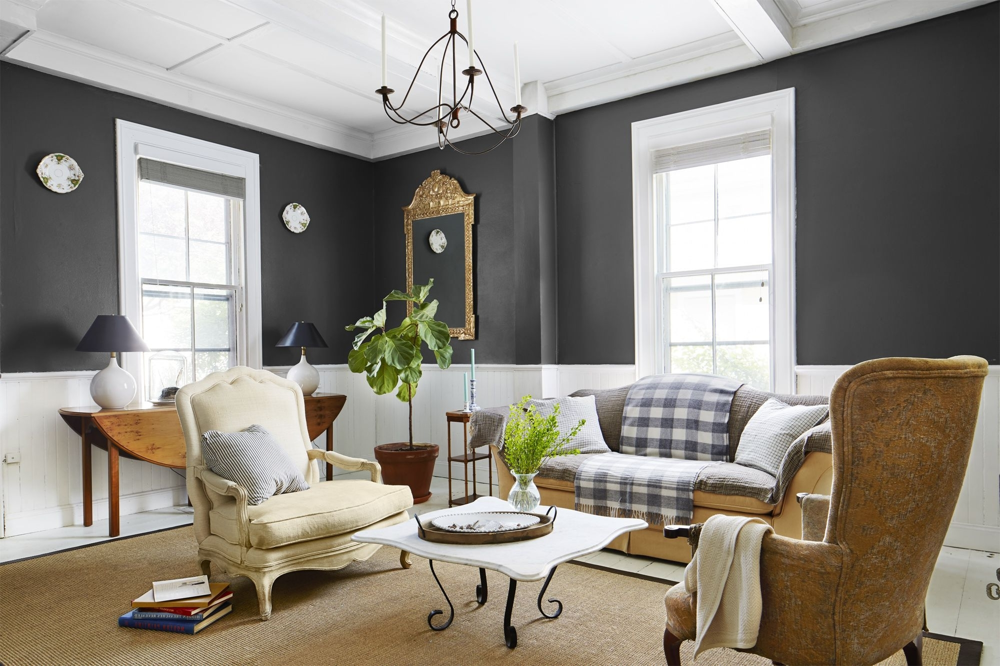 Interior Paint Finishes How To Pick A Paint Finish 40+ Eggshell Paint In Living Room Inspirations