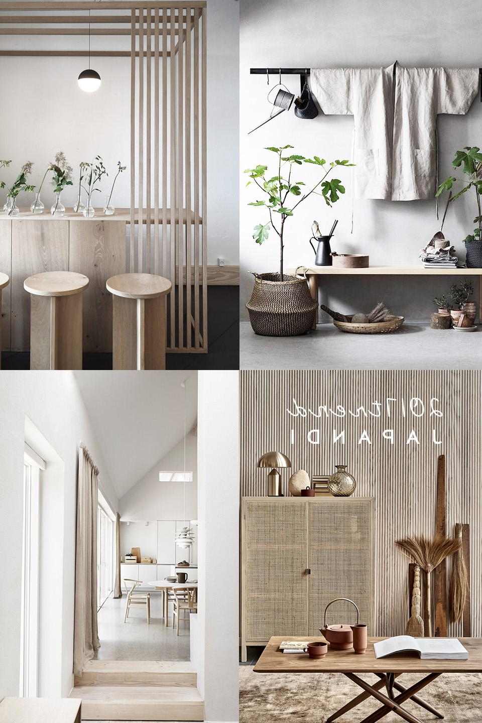 Interior Trends | Japandi Interior Style Is A Trend For Next Japandi Bathroom Design