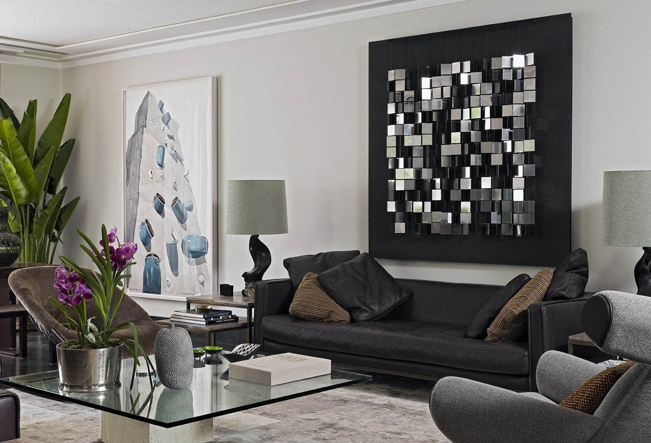 Living Room Decorating Ideas Black Leather Sofa Modern Living Room Decorating Black Leather Couch