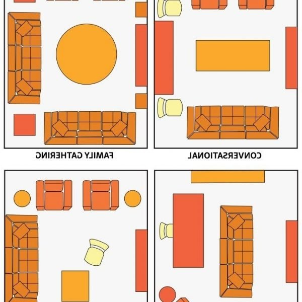 Living Room Layout Guide | The Front Door | Small Living 30+ Feng Shui Small Living Room Layout Ideas