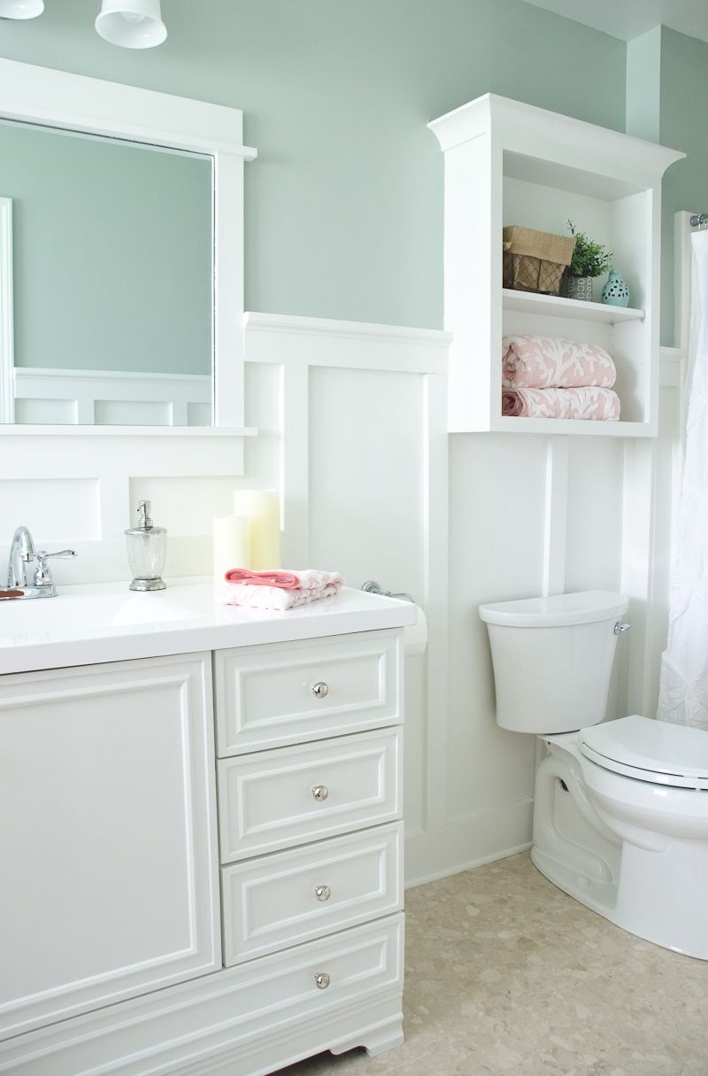 Lowe'S Bathroom Makeover Reveal The Golden Sycamore Lowe'S Creative Bathroom