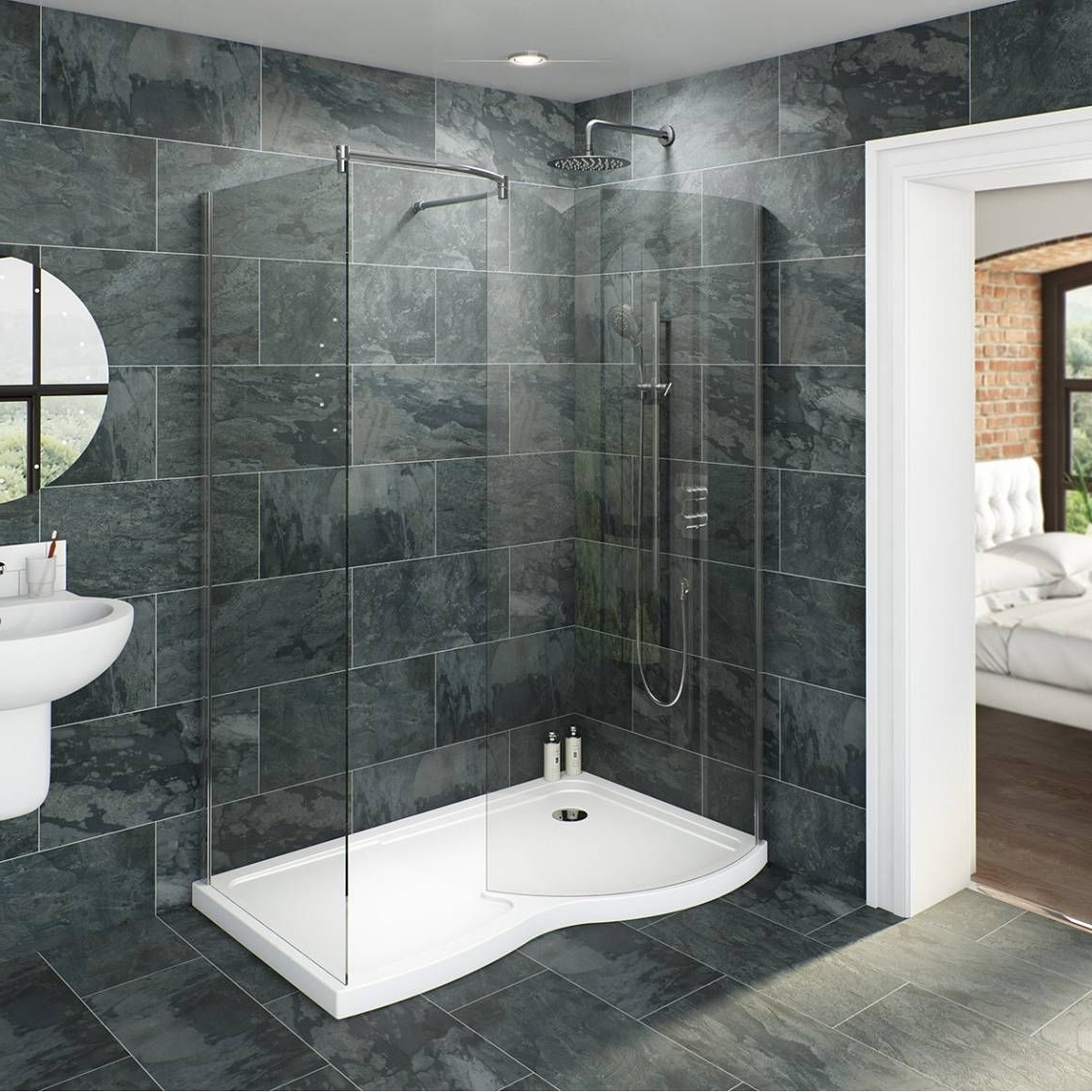 Make A Real Statement With A Walk In Shower Or Wet Room 10+ Bathroom Enclosure Designs Ideas