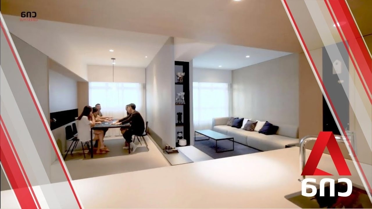 Making Room: Turning A 4 Room Whampoa Hdb Flat Into An Open Plan Home With Privacy   Cna Lifestyle Bto Living Room