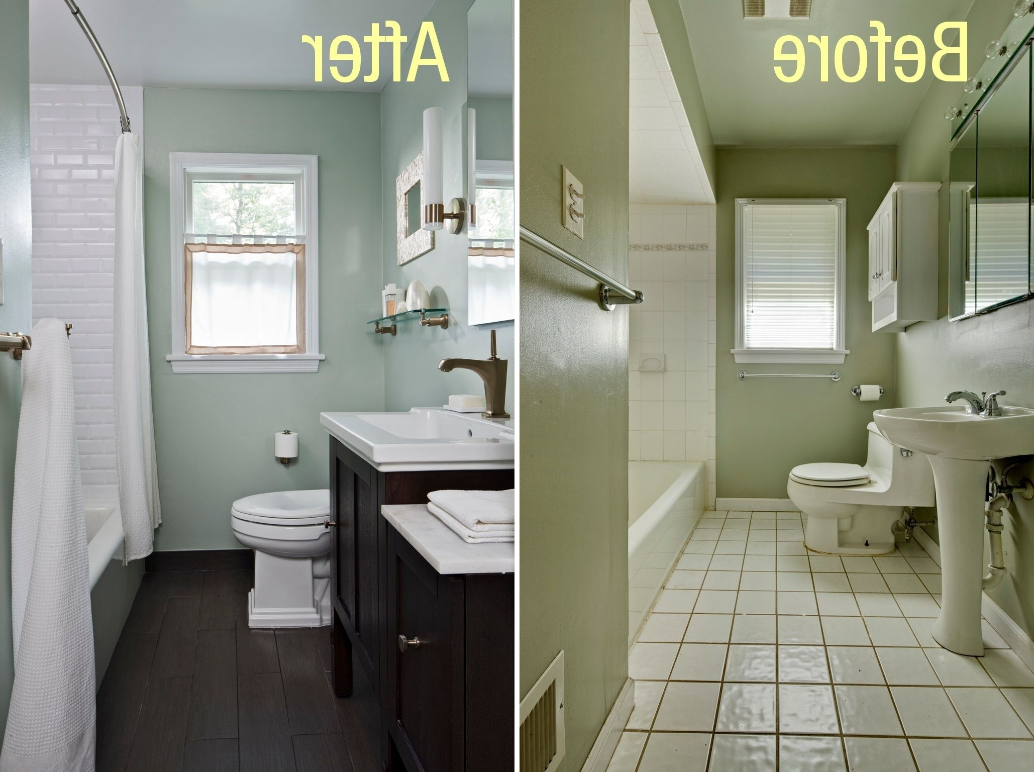 Mobile Home Bathroom Remodel Before And After Image Of 40+ Mobile Home Bathroom Renovation Ideas