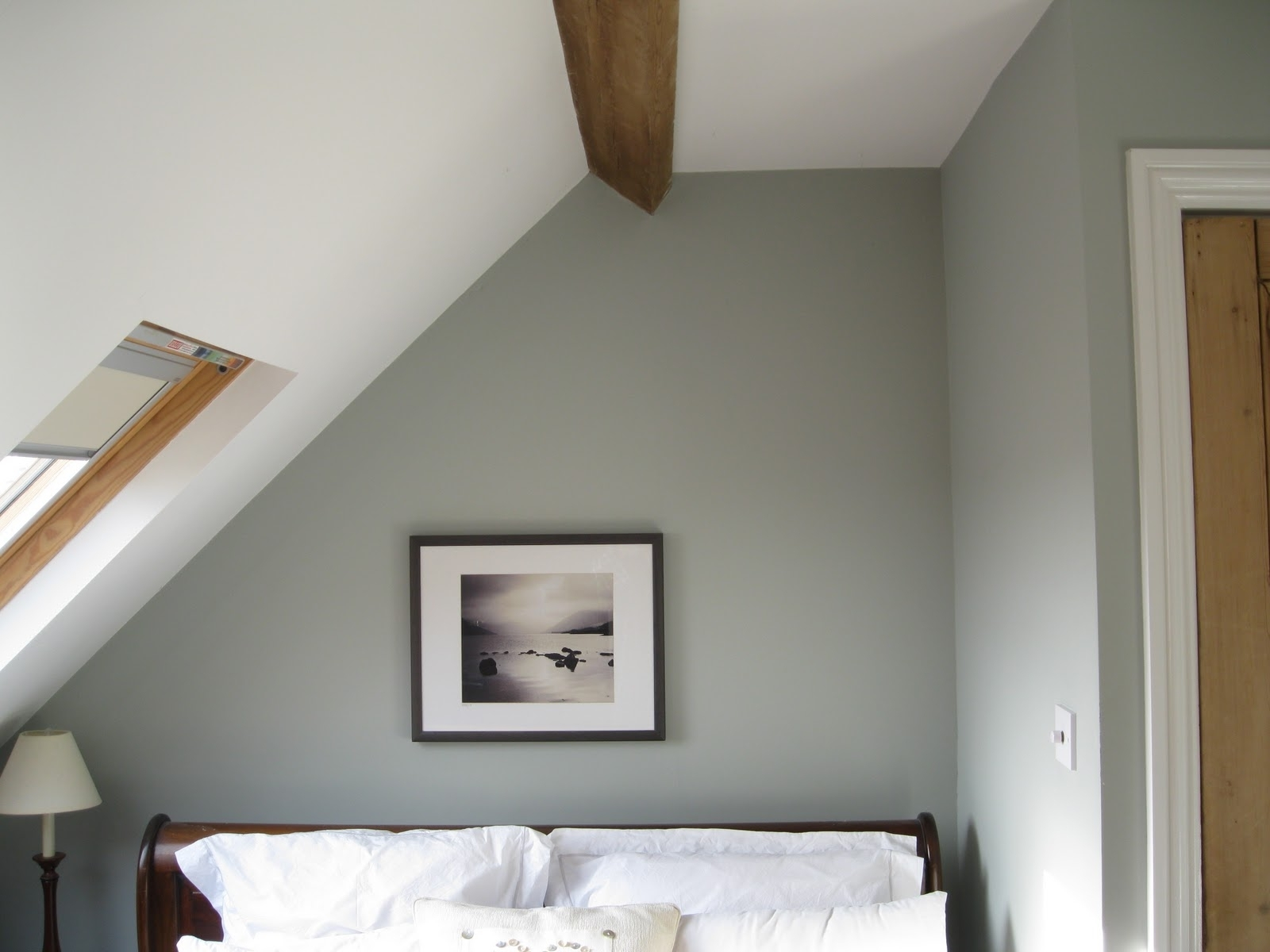 Modern Country Style: Case Study: Farrow And Ball Light Blue Light Blue Farrow And Ball Living Room