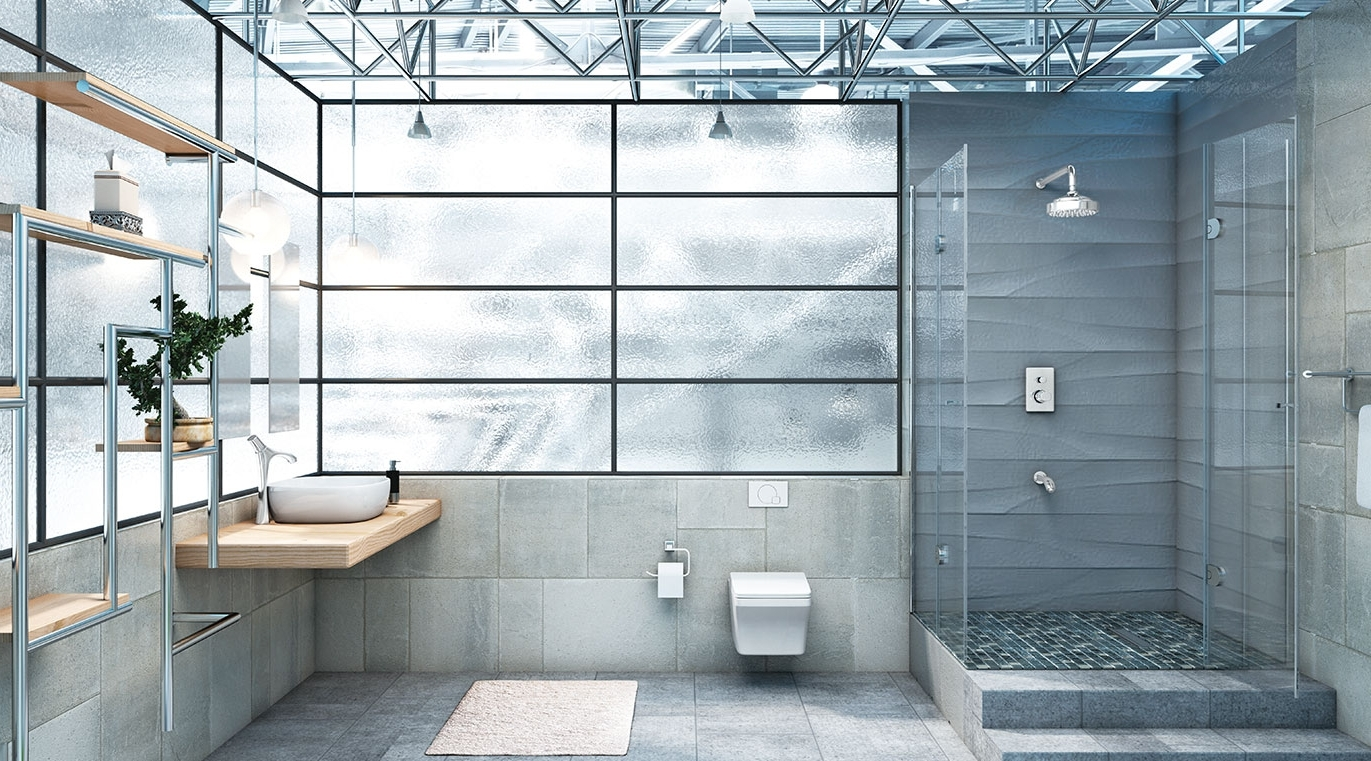 Modern Industry Bathroom Theme | Panache Collection Hindware Bathroom Design