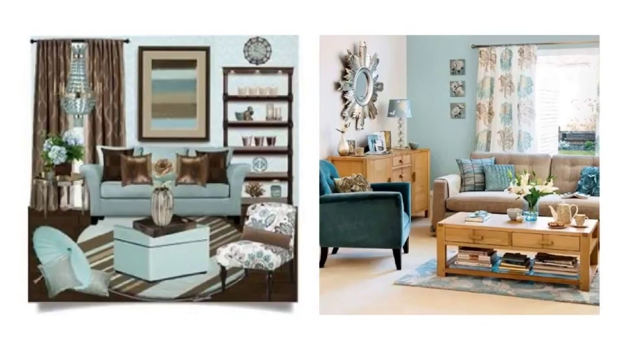 Modest Duck Egg Blue And Brown Living Room Ideas To Light Your Room Living Room With Duck Egg Blue