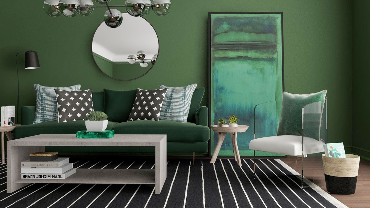 Monochrome Room Ideas: 4 Tips To Get The Look   Modsy Blog 40+ Monochrome Living Room Decorating Inspirations