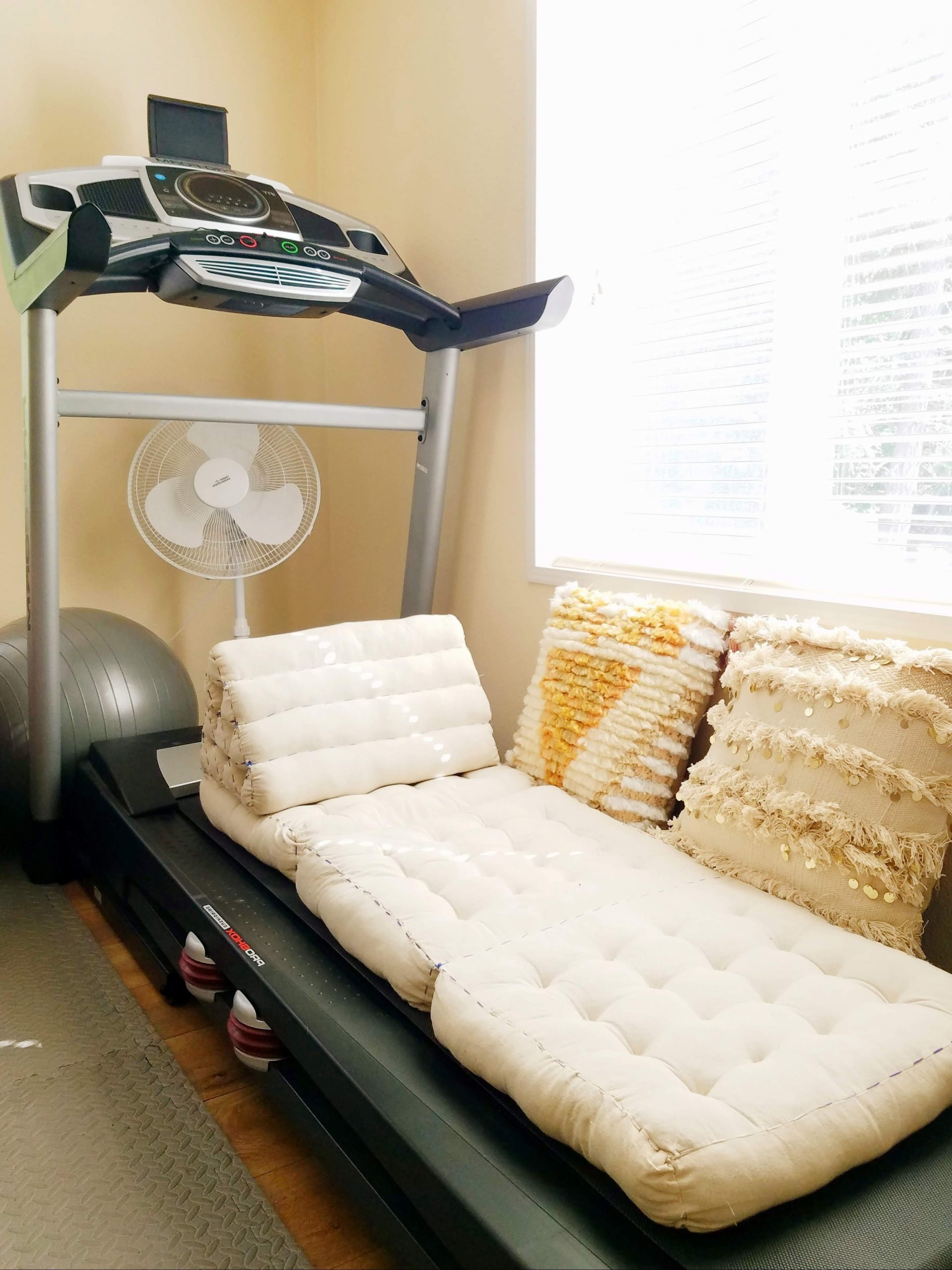 Multi Purpose Guest Room – The Artful Roost 40+ Decorate Living Room With Treadmill Ideas