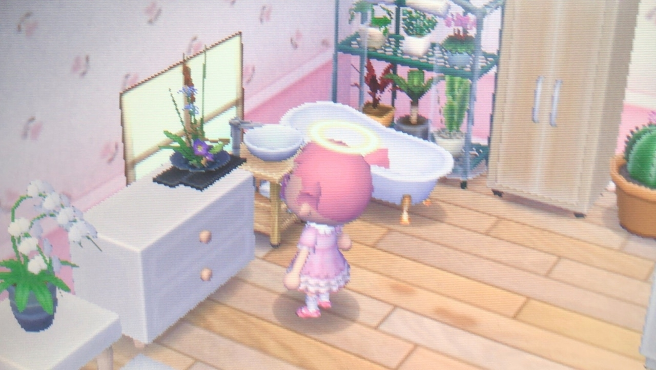 My Acnl Bathroom! I'Ve Been Doing Some Remodeling In My Home 20+ Acnl Bathroom Ideas