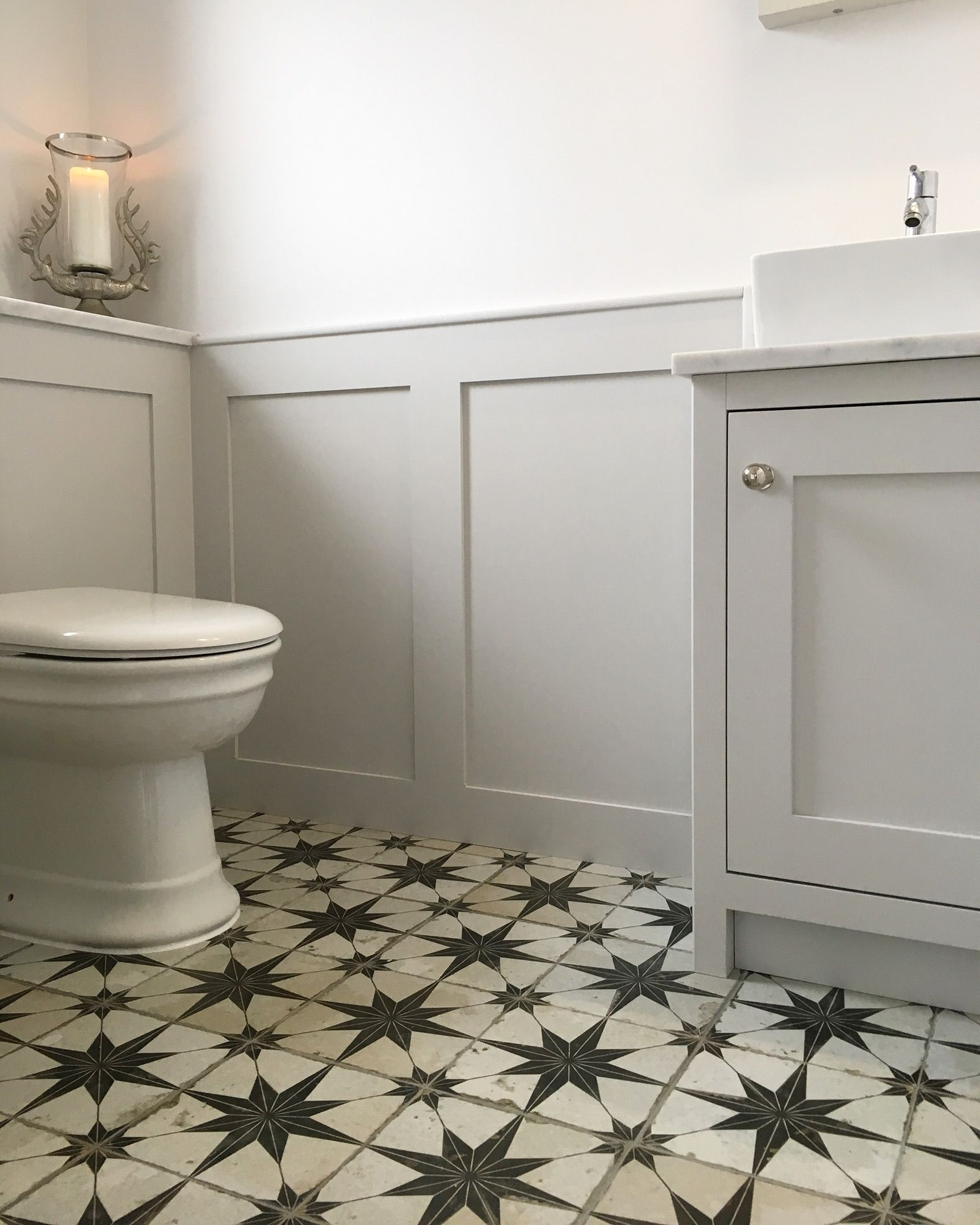 My New Downstairs Cloakroom ?   Small Downstairs Toilet 30+ Small Bathroom Panelling Inspirations
