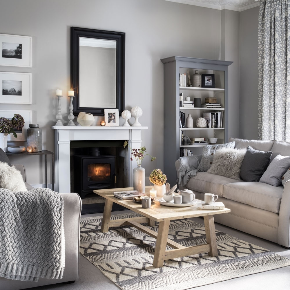 Neutral Living Room Ideas – Neutral Living Rooms – Neutral Mink And Grey Living Room