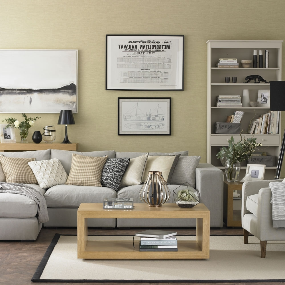 Neutral Living Room Ideas – Neutral Living Rooms – Neutral Mink Coloured Living Room