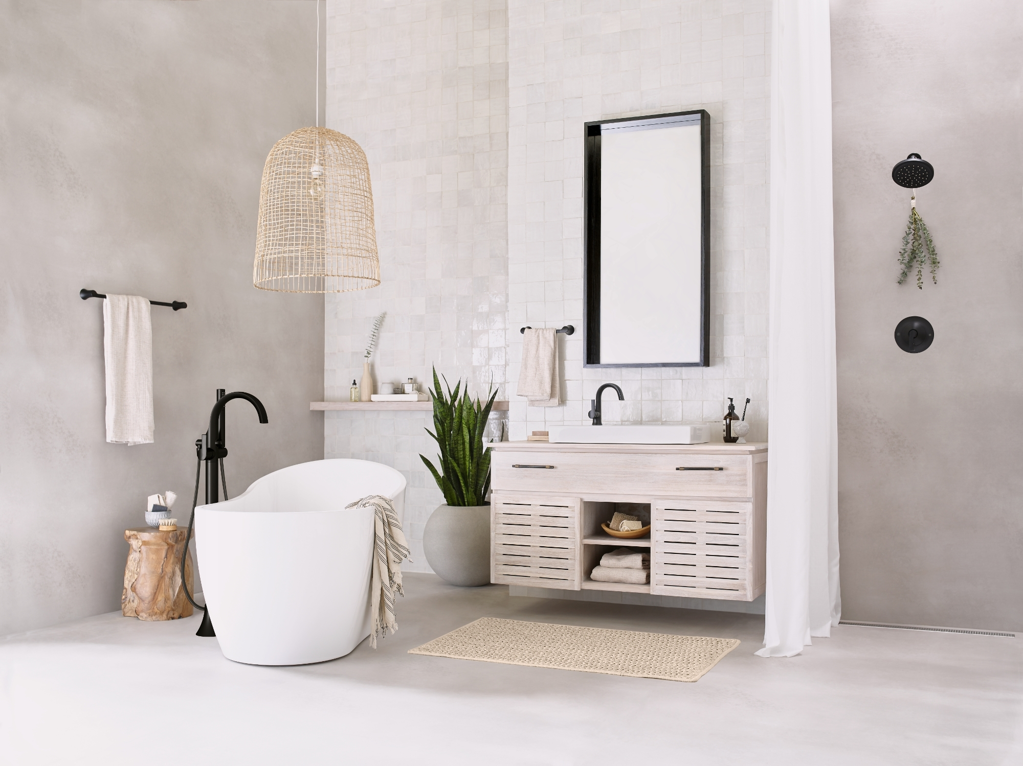 New Doux™ Suite From Moen Brings Elevated Elegance To The 10+ Moen Bathroom Design Ideas