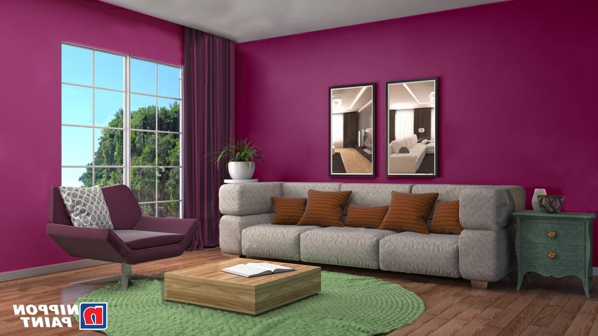 """Nippon Paint India On Twitter: """"When Painting A Room With A Nippon Paint Living Room"""