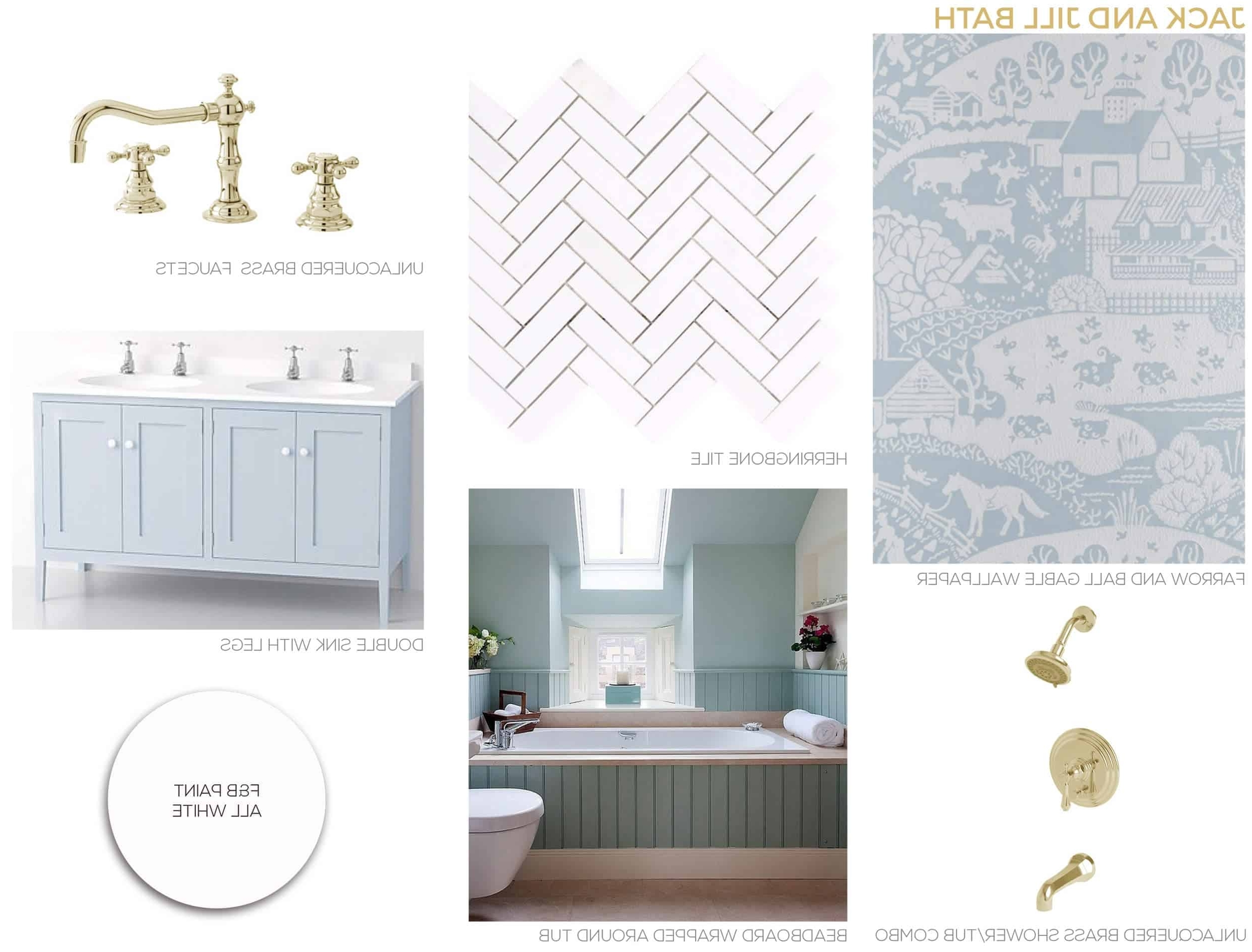 Our New Jack And Jill Bathroom Plan + Get The Look Emily 20+ Cute Jack And Jill Bathroom Inspirations