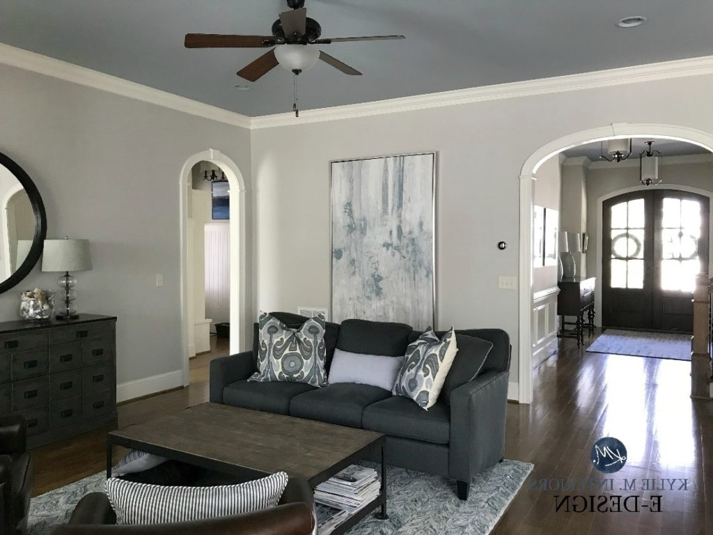Paint Colour Review: Benjamin Moore Collingwood Oc 28 10+ Abalone Paint Color Living Room Inspirations