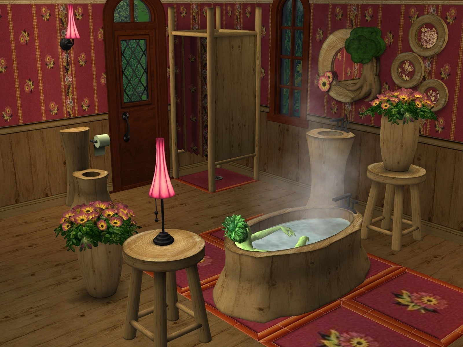 Parsimonious The Sims 2: Furniture & Objects 10+ Sims 2 Bathroom Inspirations