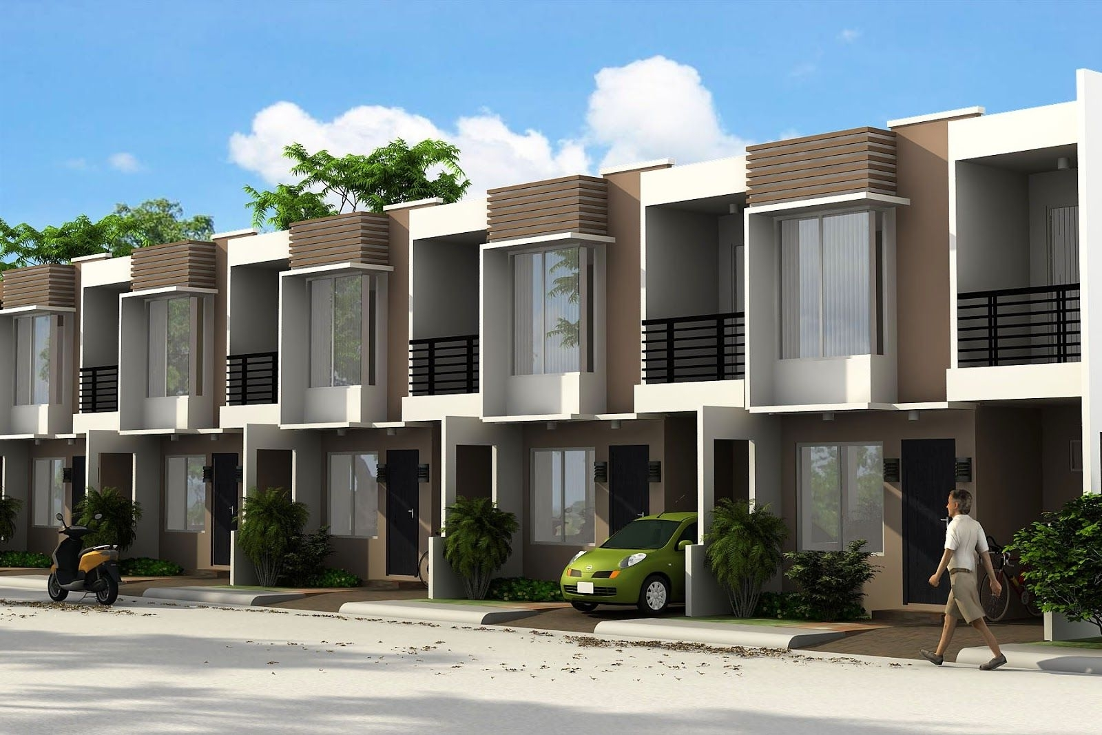 Philippines Townhouse Design Google Search   Townhouse Apartment Design Philippines