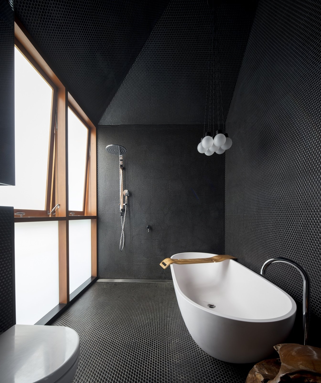 Photo 2 Of 9 In 9 Modern Bathroom Ideas That Go Off The Pitched Roof Bathroom