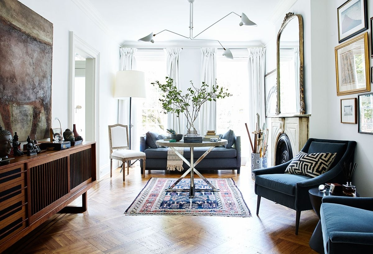 Pin On Decor 30+ Brownstone Living Room Decorating Inspirations
