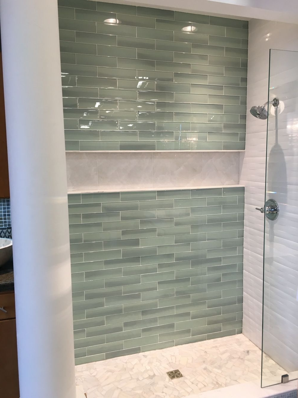 Pin On Home Bathroom Alcove Shower