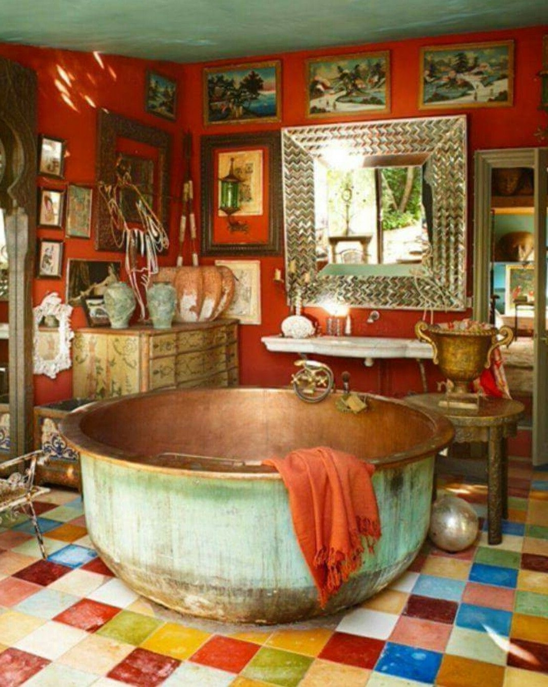 Pin On Home Sweet Home 40+ Gypsy Bathroom Inspirations
